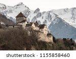 vaduz castle  liechtenstein | Shutterstock . vector #1155858460