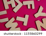 words have power word cube on... | Shutterstock . vector #1155860299
