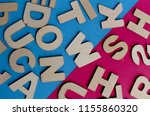 words have power word cube on... | Shutterstock . vector #1155860320