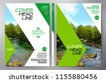 business brochure. flyer design.... | Shutterstock .eps vector #1155880456
