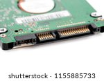 hard drive isolated on white... | Shutterstock . vector #1155885733