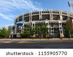 cleveland  ohio united states ... | Shutterstock . vector #1155905770