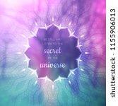 spiritual illustration with... | Shutterstock .eps vector #1155906013
