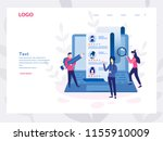 concept human resources ... | Shutterstock .eps vector #1155910009