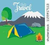 travel background vector design | Shutterstock .eps vector #1155917113