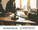 business lawyer team. working... | Shutterstock . vector #1155931519