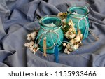 aromatics colors candles | Shutterstock . vector #1155933466