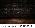 industrial grunge background ... | Shutterstock . vector #1155937519