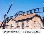 auschwitz birkenau...   Shutterstock . vector #1155938263