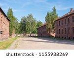 auschwitz birkenau... | Shutterstock . vector #1155938269
