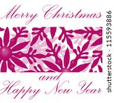 christmas background | Shutterstock . vector #115593886