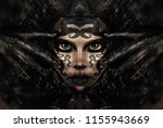 close up portrait of young...   Shutterstock . vector #1155943669