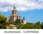 sacrario di cristo re  messina  ... | Shutterstock . vector #115594606