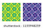 seamless repeat pattern. retro... | Shutterstock .eps vector #1155948259