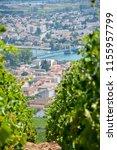 tournon sur rhone and tain l... | Shutterstock . vector #1155957799