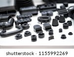 plastic and rubber parts of... | Shutterstock . vector #1155992269
