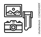 camera icon vector | Shutterstock .eps vector #1156024009