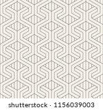vector seamless pattern. modern ... | Shutterstock .eps vector #1156039003