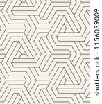 vector seamless pattern. modern ... | Shutterstock .eps vector #1156039009