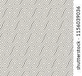 vector seamless pattern. modern ... | Shutterstock .eps vector #1156039036
