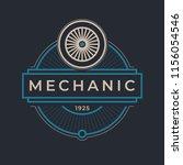 auto mechanic service. mechanic ... | Shutterstock .eps vector #1156054546