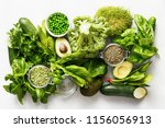 raw healthy food clean eating... | Shutterstock . vector #1156056913