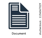 document icon vector isolated... | Shutterstock .eps vector #1156067029