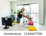 packing the goods for sending | Shutterstock . vector #1156067530