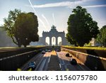 the triumphal arch in... | Shutterstock . vector #1156075780