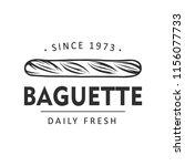 vintage style bakery shop label ... | Shutterstock .eps vector #1156077733
