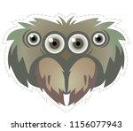 spider  mask  for children's... | Shutterstock .eps vector #1156077943