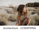 smiling  beautiful hipster... | Shutterstock . vector #1156093906