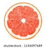 perfectly retouched sliced half ... | Shutterstock . vector #1156097689