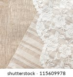 Light Natural Linen Background...