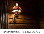 light inside a rorbuer in... | Shutterstock . vector #1156100779