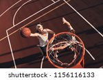 score  top view of young man in ... | Shutterstock . vector #1156116133