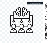 brainstorm vector icon isolated ... | Shutterstock .eps vector #1156123906
