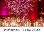 indian pakistani wedding hall... | Shutterstock . vector #1156129156