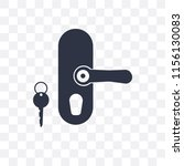 handle vector icon isolated on... | Shutterstock .eps vector #1156130083