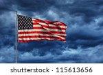 Majestic United States Flag...