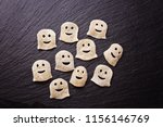 funny ghost for halloween | Shutterstock . vector #1156146769