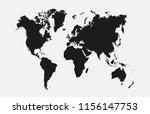 world map vector | Shutterstock .eps vector #1156147753