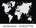 world map vector | Shutterstock .eps vector #1156147756