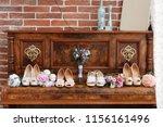 Wedding Concept. Bridesmaid...