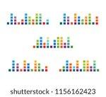 sound waves vector illustration ... | Shutterstock .eps vector #1156162423