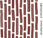 vector seamless aboriginal... | Shutterstock .eps vector #1156181683
