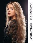 view over shoulder of beautiful ... | Shutterstock . vector #1156204390