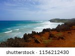 scenic view over the pacific... | Shutterstock . vector #1156212430