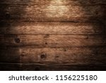 vintage old brown wooden... | Shutterstock . vector #1156225180