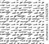 handwriting background.... | Shutterstock .eps vector #1156228726
